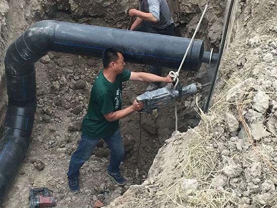 齐齐哈尔城区给排水改造JBO电竞